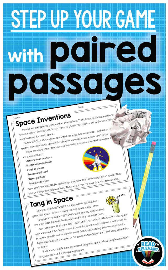 Paired passages example