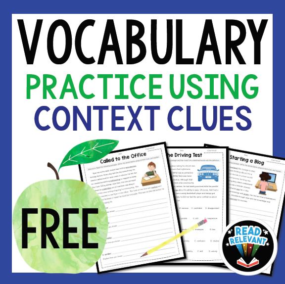 Free ELA Context Clues Vocabulary download