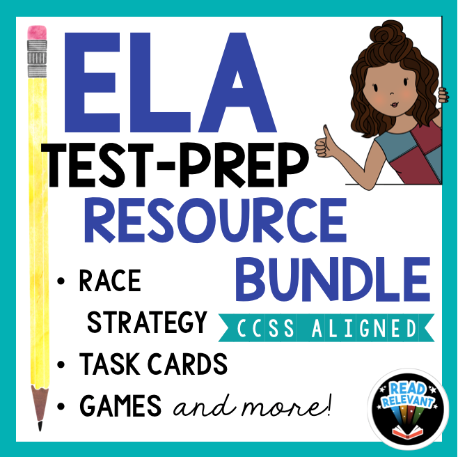 ELA Test Prep Resource bundle