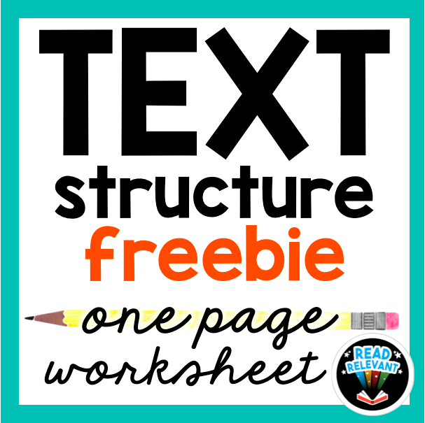 Informational Text Structure Free worksheet