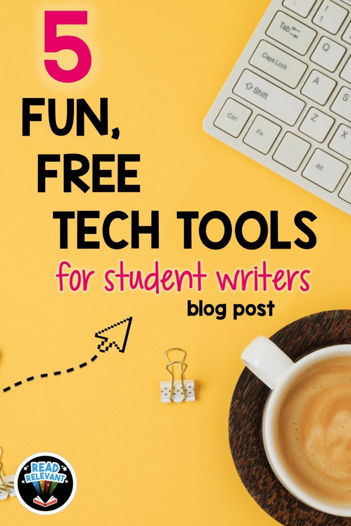 Five Fun, Free Tech Tools for Writers