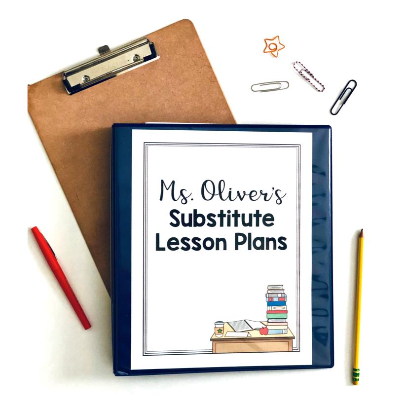 Free Sub Lesson Plans