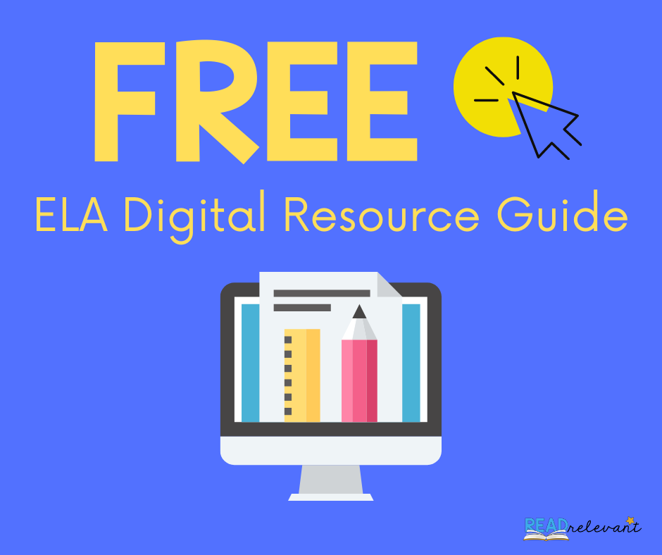 Free ELA digital resource guide