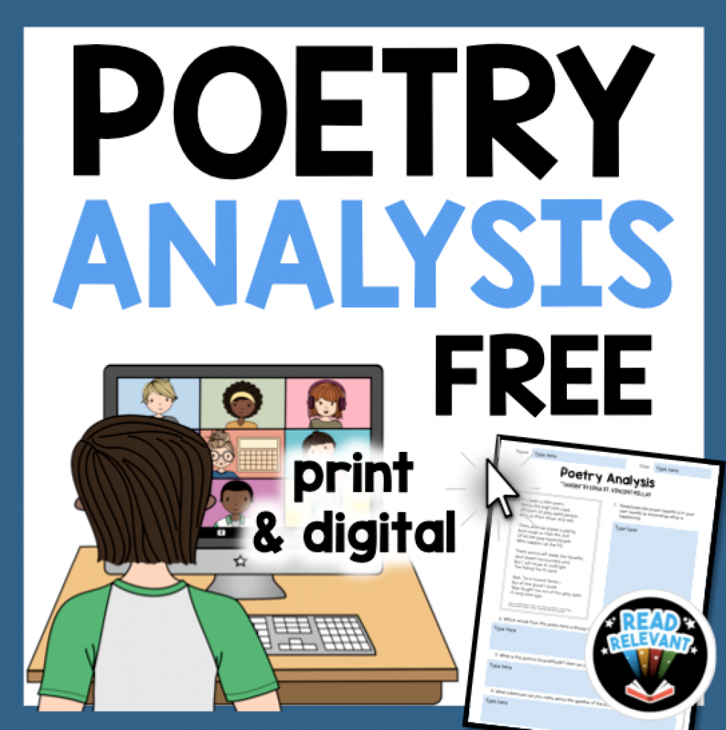 Free Poetry Analysis Activity